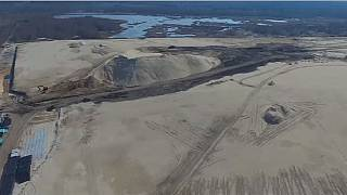 "Russie: la ""mer blanche"" de Dzerzhinsk en plein assainissement"