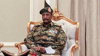 Sudan protest hub: Junta's envoy meets Nigeria's Buhari