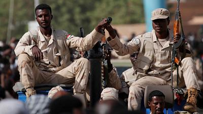 Sudan protest - we wont tolerate chaos, military