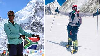 South African woman conquers Mount Everest in 27 days, on fourth try