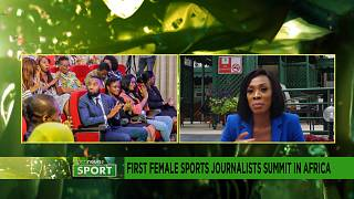 First African female sports journalist summit in Africa