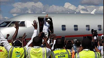 """""""Je viens pour aider le peuple à sortir de la misère"""", affirme Katumbi à son retour en RDC"""