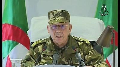 Polls the best route out of Algeria's political crisis - Army chief