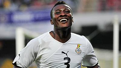 Ghana's president convinces Gyan to cancel retirement