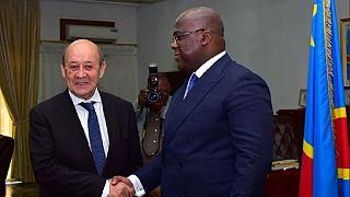 En RDC, changement de ton pour Jean Yves Le Drian