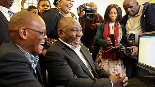 South Africa president registers as MP, promises all-inclusive cabinet