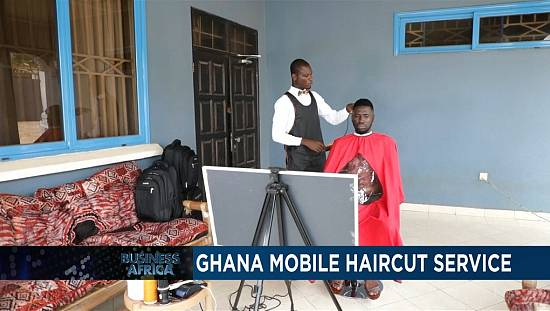 Ghana haircut mobile service