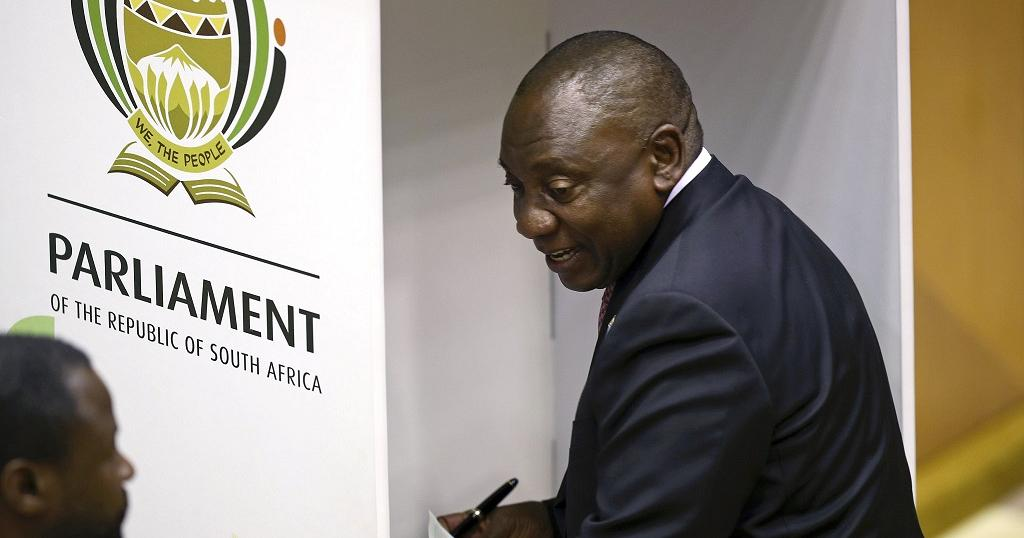 South Africa parliament elects ANC's Ramaphosa as president
