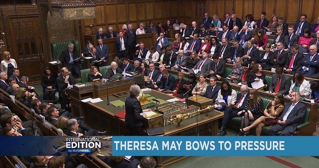 Theresa May bows to pressure [International Edition]