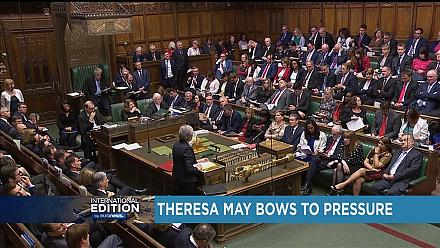 Theresa May s'incline face à la pression [International Edition]
