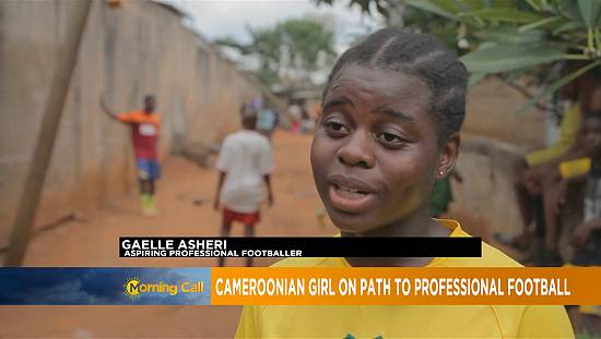Cameroon teenage football sensation joins academy [Morning Call]