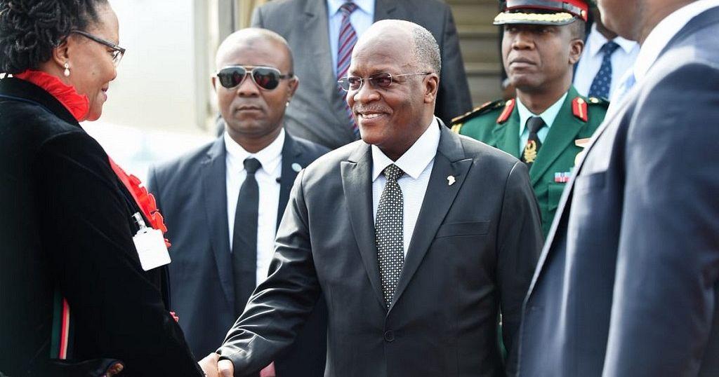 Tanzania president's rare trip abroad, in SA for Ramaphosa inauguration