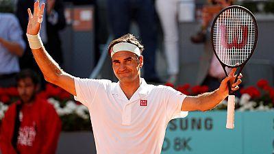 Federer savoure son retour à Roland-Garros