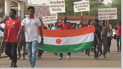 Niger : des étudiants contre la présence des forces étrangères