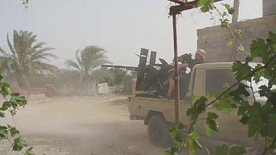 Fighting intensifies south of Libyan capital, Tripoli