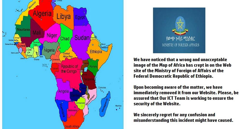 Backlash as Ethiopian map of Africa wipes off Somalia ...