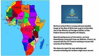 Backlash as Ethiopian map of Africa wipes off Somalia, merges Congos