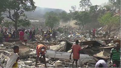 En Guinée, des opérations de déguerpissement controversées