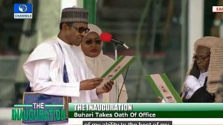 LIVE: Nigeria presidential inauguration as Buhari starts second term