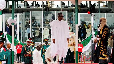 Nigerians shocked by speech-less start to Buhari's second term