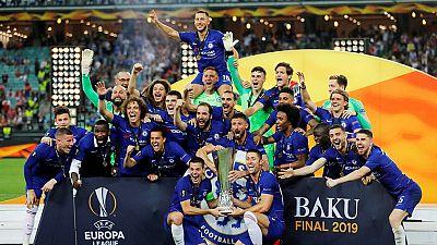 Nigeria's Iwobi praised despite Arsenal loss to Chelsea in Europa League final
