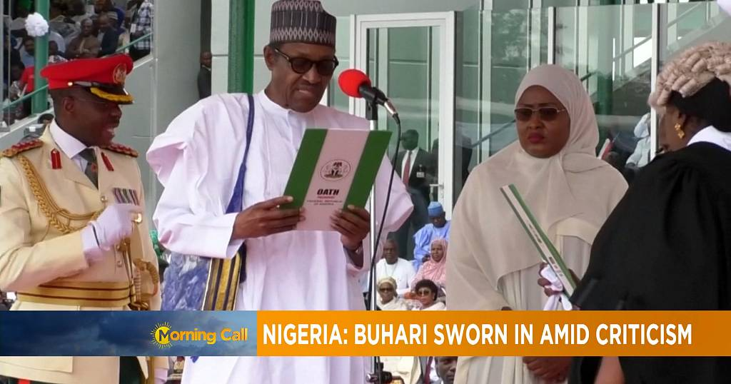 Nigeria: Muhammadu Buhari sworn in amid criticism [The Morning Call]