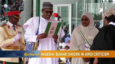 Nigeria: Muhammadu Buhari sworn in amid criticism [The Morning Call]