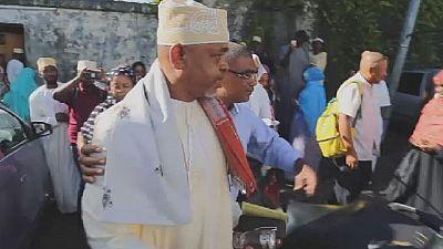 Comorian President pardons 17 jailed opponents