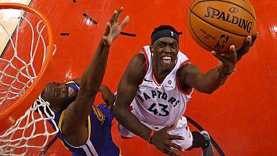 Finales NBA : Siakam mate les Warriors