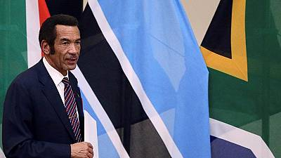 Botswana ex-president slams successor after quitting ruling party
