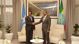 Ethiopia PM - Somali president confer in Addis Ababa