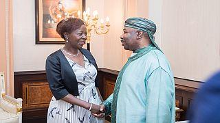 Francophonie : la secrétaire générale reçue par le président gabonais