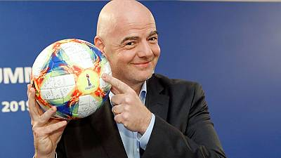 Gianni Infantino re-elected FIFA president