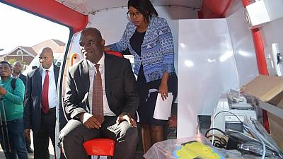 No luxury vehicles: South African provincial head buys ambulances