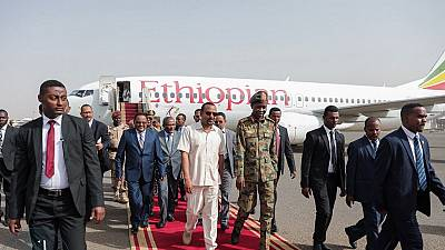 Ethiopia PM in Sudan to mediate between military, opposition