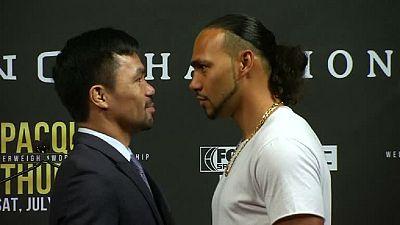 Boxe : Pacquiao se prépare pour Thurman