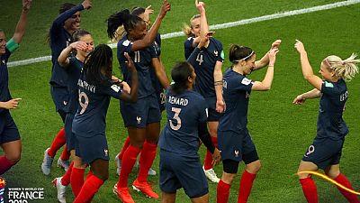 Mondial féminin 2019: la France écrase la Corée du Sud par un cinglant 4 - 0
