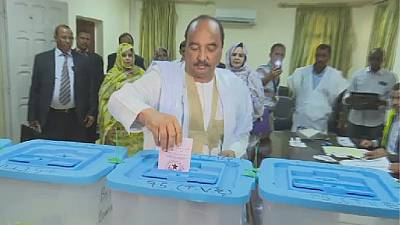 Six presidential candidates vie in historic Mauritania elections