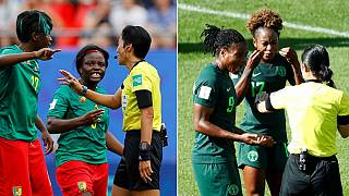 2019 Women's World Cup: Nigeria, South Africa in action (Match Day)