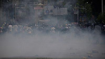 One dead in Haiti anti-gov't protest