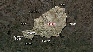 Niger roadside bomb impacts US military vehicle