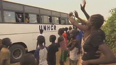 86 displaced South Sudanese return home