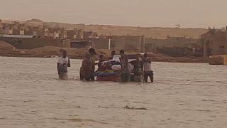 Le sud-ouest de la Libye dévasté par des inondations