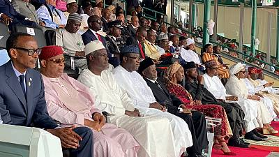 African leaders gather for Nigeria's inaugural Democracy Day