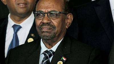 Sudan's former president appears for the first time since being jailed