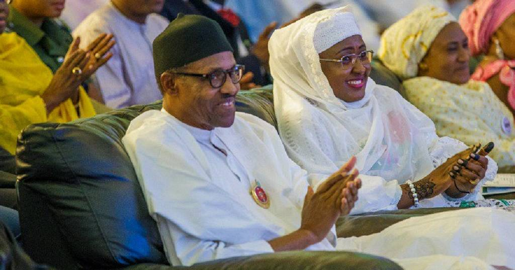 Mrs. Buhari takes 'First Lady' title, after five years as 'Wife of the President'