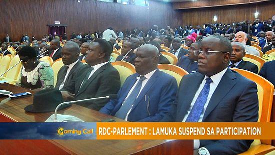 DR Congo: Lamuka coalition boycotts parliament [Morning Call]