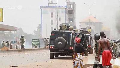 Guinée : au moins 28 blessés lors d'une manifestation contre un 3e mandat de Condé