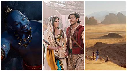 Hollywood, Bollywood, Wadi Rum, les Mille et Une inspirations d'Aladdin