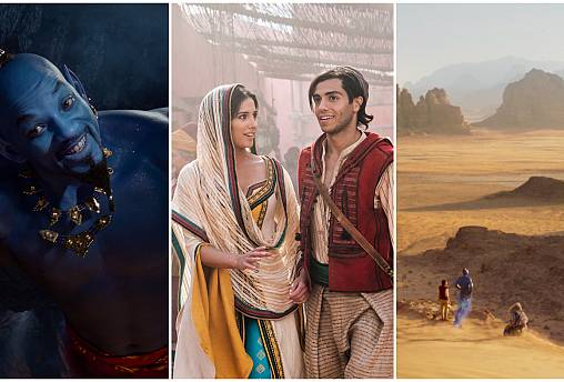 How is Disney's remake of Aladdin good news for the Middle East?